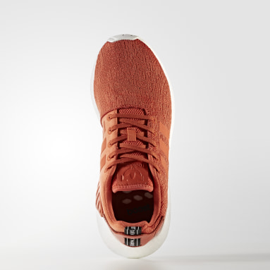 ผู้ชาย Originals สีส้ม รองเท้า NMD_R2