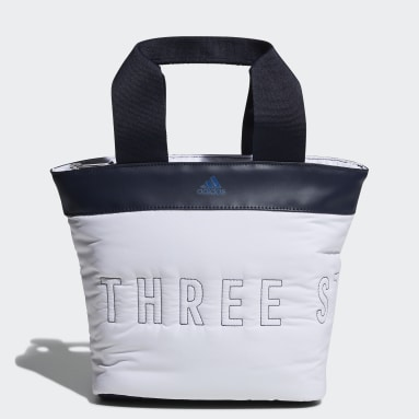 Women Golf White Round Mini Tote Bag