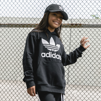 Casquette Washed Relaxed noir Adolescents Originals