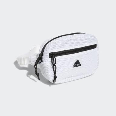 Training White Air Mesh Waist Pack