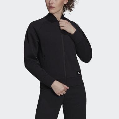 Women's Sportswear Black adidas Sportswear Future Icons Logo Graphic Bomber Jacket