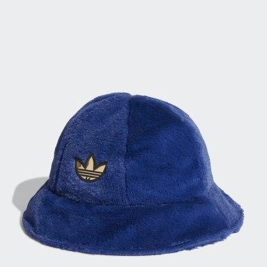 Originals Blue adidas SPRT Faux Fur Bucket Hat