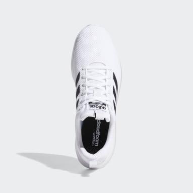 Männer Running Lite Racer CLN Schuh Weiß