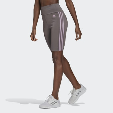 Designed To Move High-Rise Short Sport Tights Szary