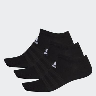 черный Три пары носков Low-Cut
