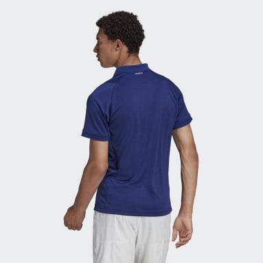 Men's Tennis Blue Tennis Freelift Polo Shirt