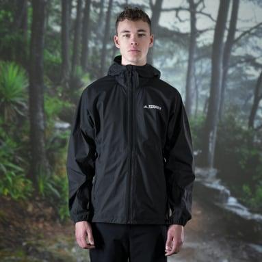 Men TERREX Black Agravic 3L Jacket