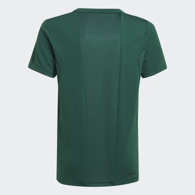Camiseta Estampada Designed to Move Verde Meninos Training