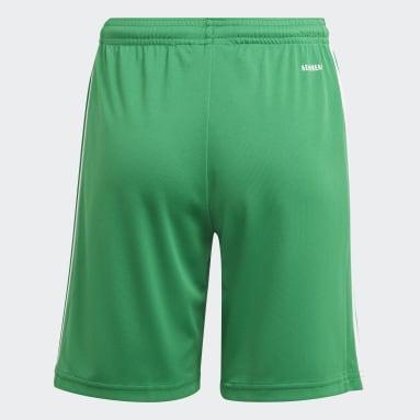 Pantalón corto Squadra 21 Verde Niño Fútbol