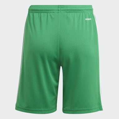 Short Squadra 21 Verde Ragazzo Calcio