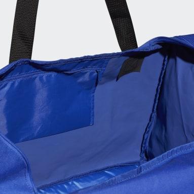 Borsone Tiro Large Blu Calcio