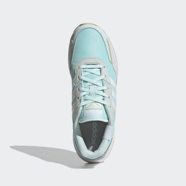 Women's Essentials Green Retrorun Shoes