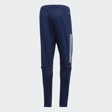 Pantalón entrenamiento Condivo 20 Azul Hombre Gimnasio Y Entrenamiento