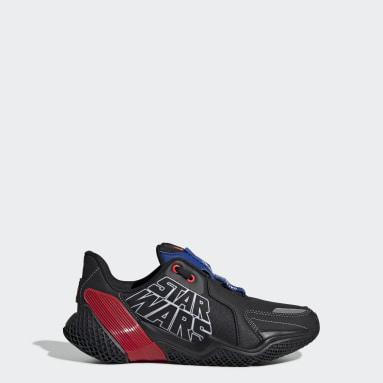 Youth Running Black Star Wars 4UTURE Runner Shoes