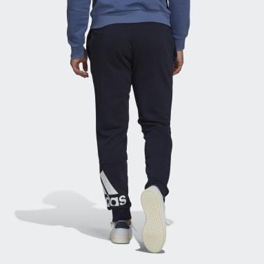 Calças Afuniladas em Moletão Essentials Azul Homem Sportswear