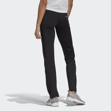 Women Running Black Designed To Move Bootcut Joggers