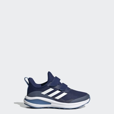 Kids 4-8 Years Running Blue FortaRun Double Strap Running Shoes