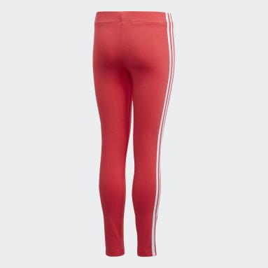 Mallas Essentials 3 bandas Rosa Niña Sportswear