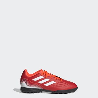 Børn Fodbold Rød Copa Sense.3 Turf støvler