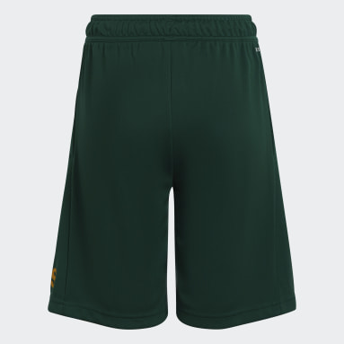 Youth 8-16 Years Gym & Training Green Designed 2 Move Shorts