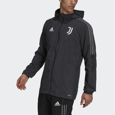 Männer Fußball Juventus Turin Tiro Präsentationsjacke Grau