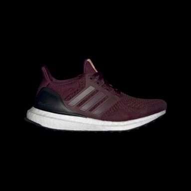 Youth Running Burgundy Ultraboost 20 Running Shoes