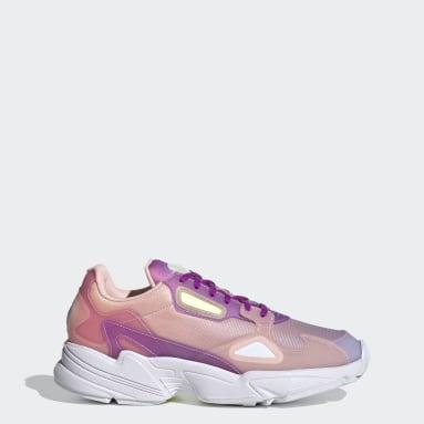 Women Originals Purple Falcon Shoes