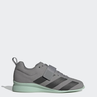 Men's Weightlifting Grey Adipower Weightlifting 2 Shoes