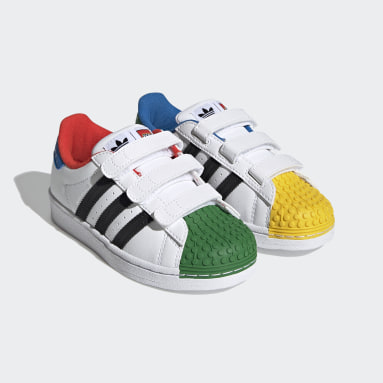 Kinderen Originals wit adidas Superstar 360 x LEGO® Schoenen