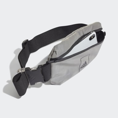 Bolsa de Cintura Sports Prateado Sportswear