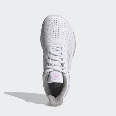 белый Кроссовки для тенниса Courtsmash