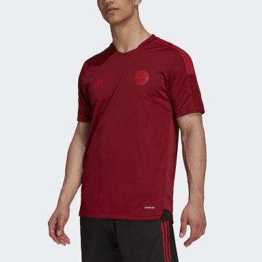 Camisa Treino Tiro FC Bayern Vermelho Homem Futebol