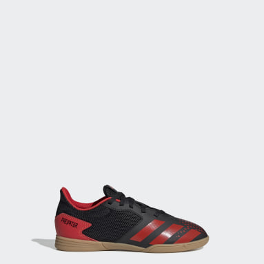 Kids 4-8 Years Futsal Black Predator 20.4 Indoor Sala Boots