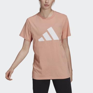розовый Футболка adidas Sportswear Future Icons Logo Graphic