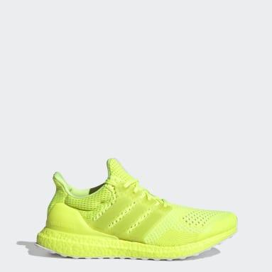 ผู้ชาย วิ่ง สีเหลือง รองเท้า Ultraboost 1.0 DNA