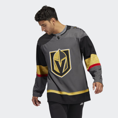 Men's Hockey Grey Golden Knights Home Authentic Jersey