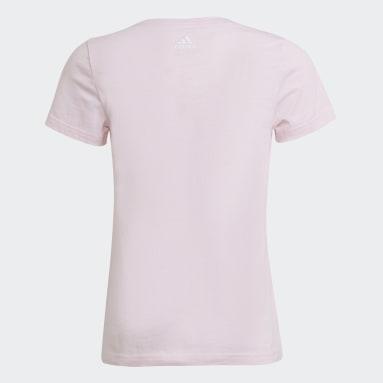 T-shirt adidas Essentials Rosa Ragazza Sportswear
