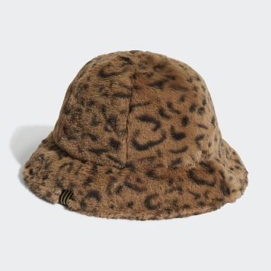 SPRT Faux Fur Printed Bucket Hat Wielokolorowy