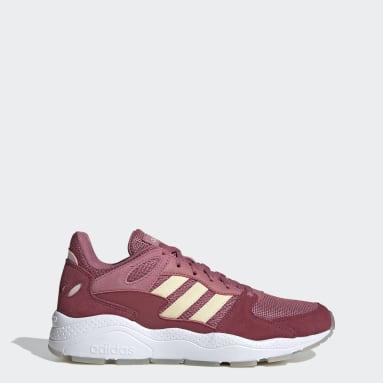 Women Running Burgundy Crazychaos Shoes