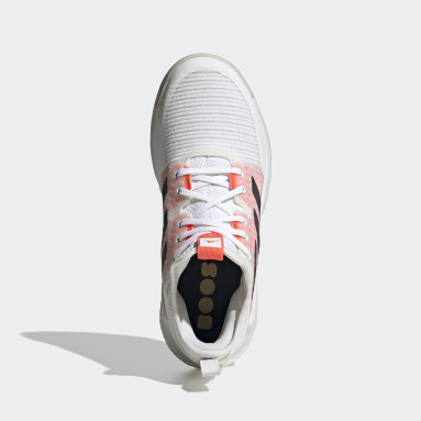 Sapatos de Voleibol CrazyFlight Mid Tokyo Branco Mulher Netball