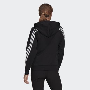 Women's Sportswear Black adidas Sportswear Future Icons 3-Stripes Hooded Track Jacket