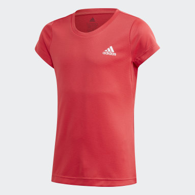 Youth 8-16 Years Yoga Pink AEROREADY T-Shirt