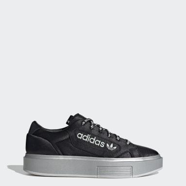 Dames Originals zwart adidas Sleek Super Schoenen