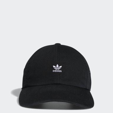 Women's Originals Black Mini Logo Relaxed Hat