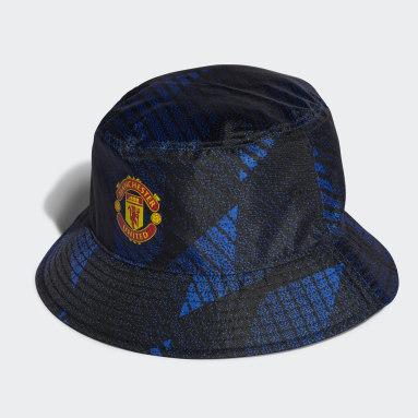 Fußball Manchester United Stoffhut Blau