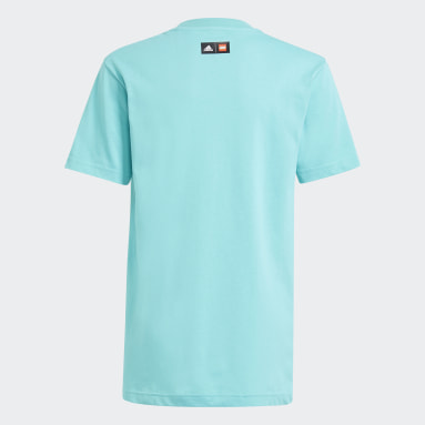 Camiseta adidas x LEGO® Graphic Turquesa Niño Gimnasio Y Entrenamiento