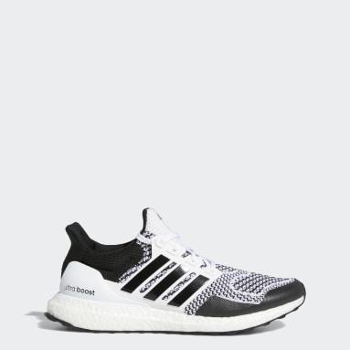 Men Running White Ultraboost 1 DNA Shoes