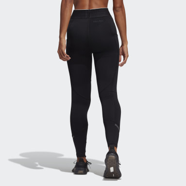 Tight lunghi Techfit COLD.RDY Nero Donna Running