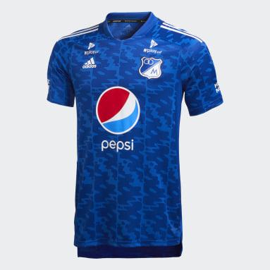 Camiseta de Local Millonarios FC Azul Hombre Fútbol