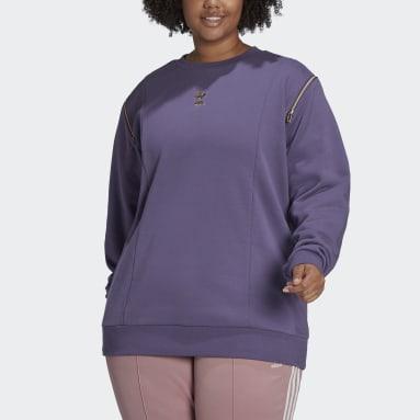 Women's Originals Purple Crew Sweatshirt